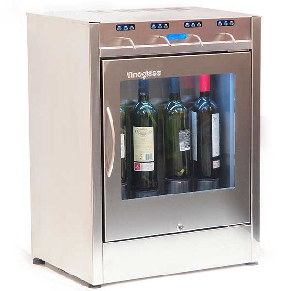 Wine Dispenser 4 Bottles Elite - BartechCo