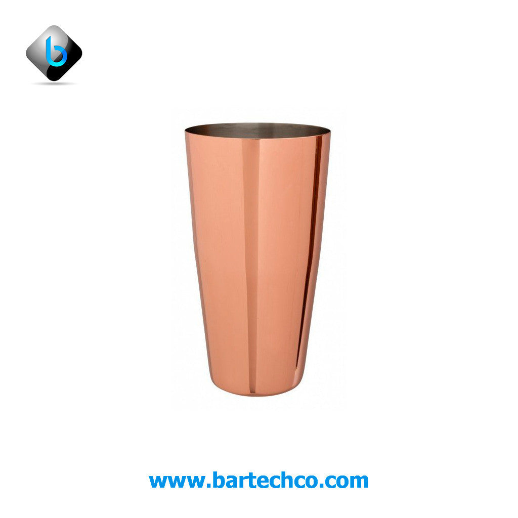 Boston Can Copper Plated 28oz - BartechCo