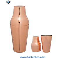 MEZCLAR FRENCH SHAKER COPPER PLATED 600ML