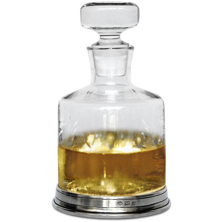 Pewter Whisky Decanter