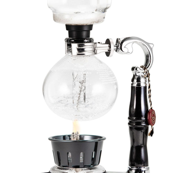 YAMA GLASS 3 CUP TABLETOP SIPHON (SYPHON) (ALCOHOL BURNER) - BartechCo