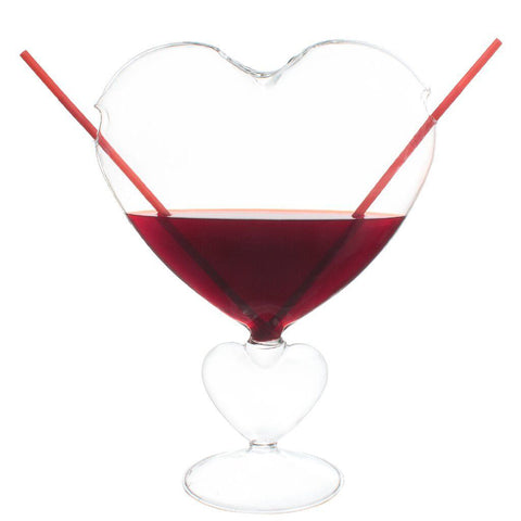 Mixology Heart of Glass for Two
