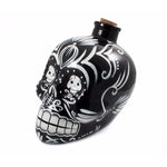 Mixology Day of the Dead Decanter Black