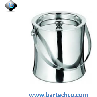 Double Wall Ice Bucket, 60 Oz, S/S - BartechCo