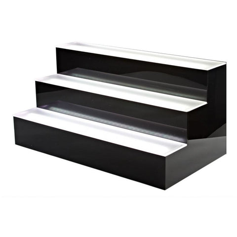 Bottle Shelf Tiered LED - BartechCo
