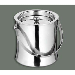DOUBLE WALL ICE BUCKET, 60 OZ, S/S
