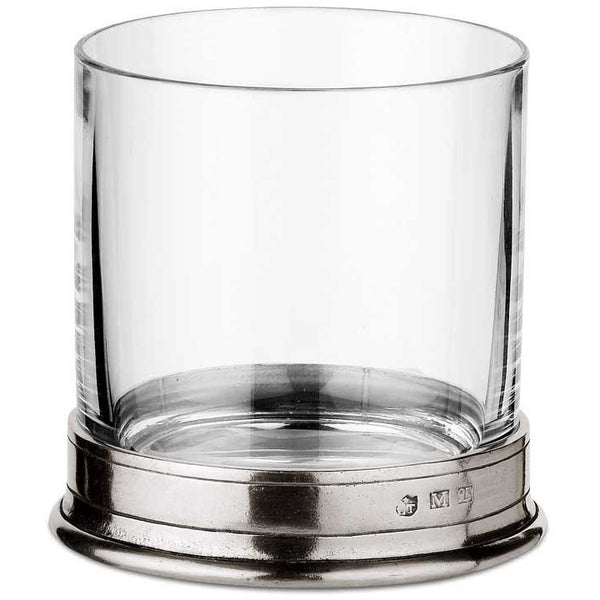 Pewter Old Fashioned Glass 42 cl