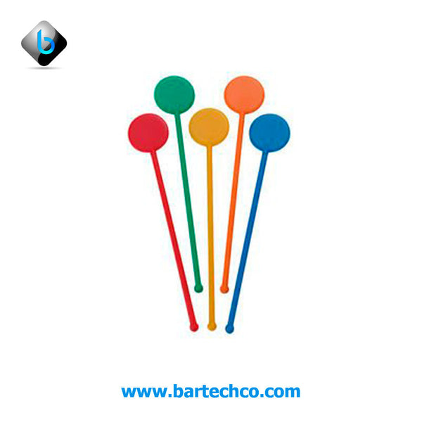 "Disc Stirrers 6"" (250 Pack) - BartechCo"