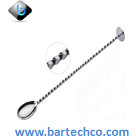 "PROFESSIONAL MIXING SPOON 11"" - BartechCo"