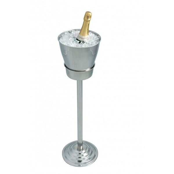 WINE /CHAMPAGNE BUCKET WITH STAND