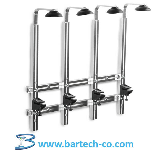 Wall Bracket 4 Bottles 70 cl/1 litre - BartechCo