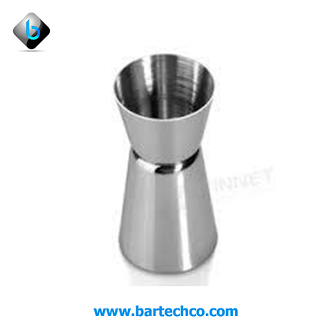 Double jigger SS 30/60 ML - BartechCo