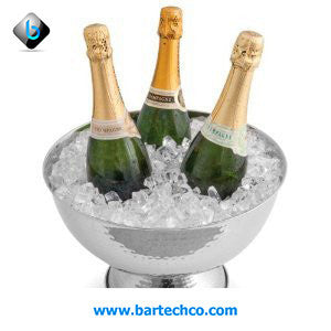BOLLATE WINE CHAMPAGNE COOLER HAMMERED FINISH