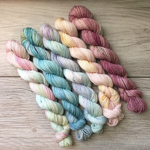 Mythical  |  MINI skein set of 5  |  SHEARsheep  |  fingering weight