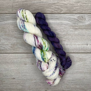 Candied Lavender  |  SHEEPISHsock  |  fingering weight