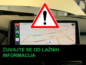 Carplay i lažne informacije