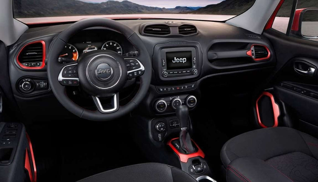 Zamenite navigaciju za Jeep Renegade