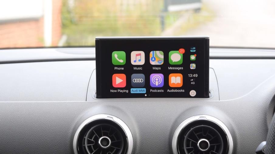 Apple Carplay u mom Audiju A3