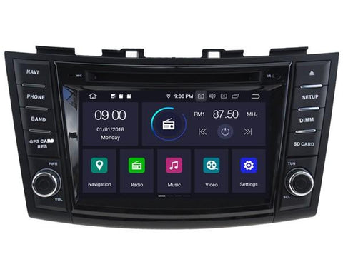 autoradio gps Suzuki Swift 2011 2012 2013 2014 2015