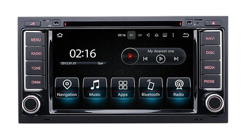 gps android volkswagen touareg 4K