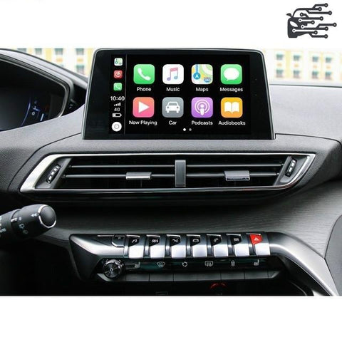 carplay sans fil peugeot nac