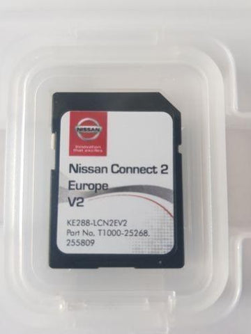 Carte SD Europe Nissan