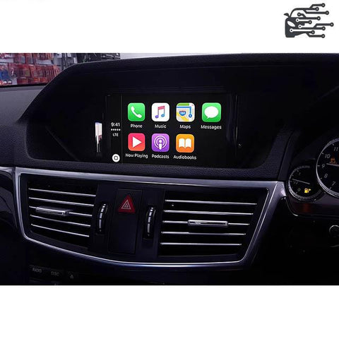 apple carplay mercedes ntg 4.0 c e glk