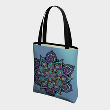 Load image into Gallery viewer, High Frequency Basic Tote Bag - Christina Lee Dot Meditation Âû