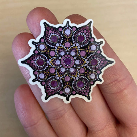 Sorrow Mandala Sticker