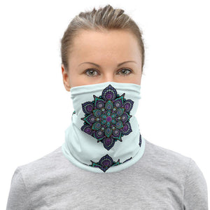 High Frequency Neck Gaiter Glacier Blue
