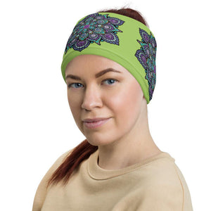 High Frequency Neck Gaiter Lime Green