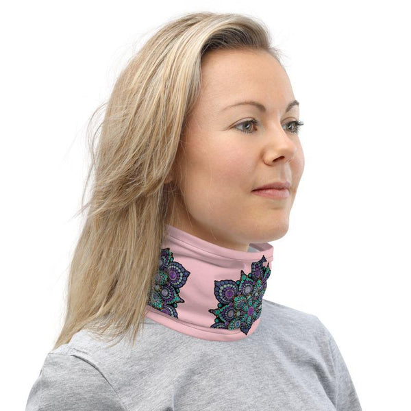 High Frequency Neck Gaiter Pink Lemonade