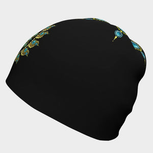 Hope and Justice Beanie Black - Christina Lee Dot Meditation Âû