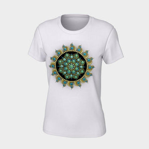 Hope and Justice Unisex Tee - Christina Lee Dot Meditation Âû