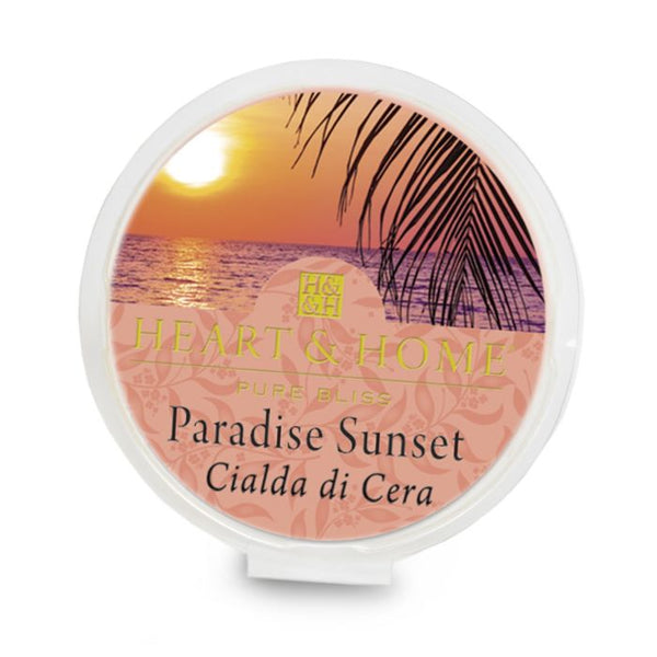 Heart & Home Cialda in Cera di Soia - Paradise Sunset 26 gr.