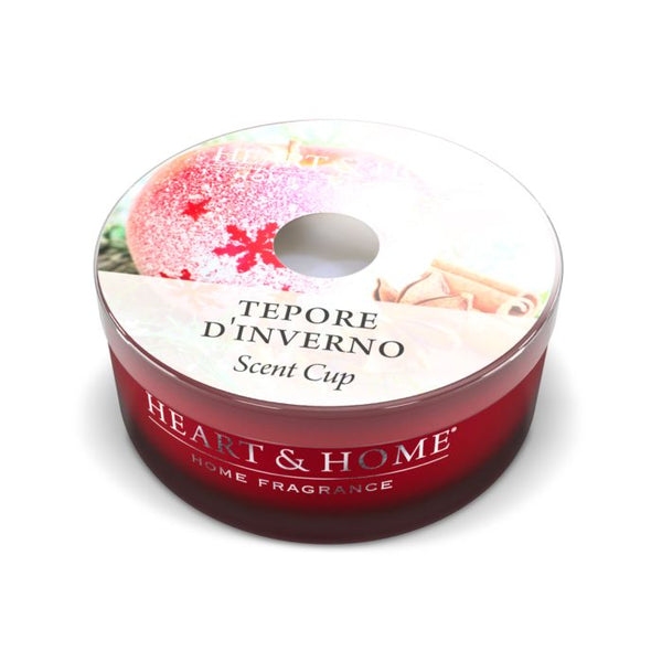 Heart & Home Candela Scent Cup - Tepore d'Inverno 38 gr.