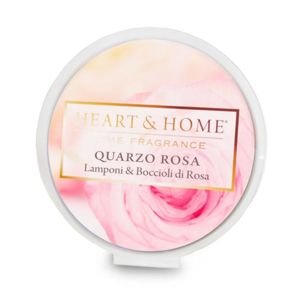 Heart & Home Cialda in Cera di Soia - Quarzo Rosa 26 gr.