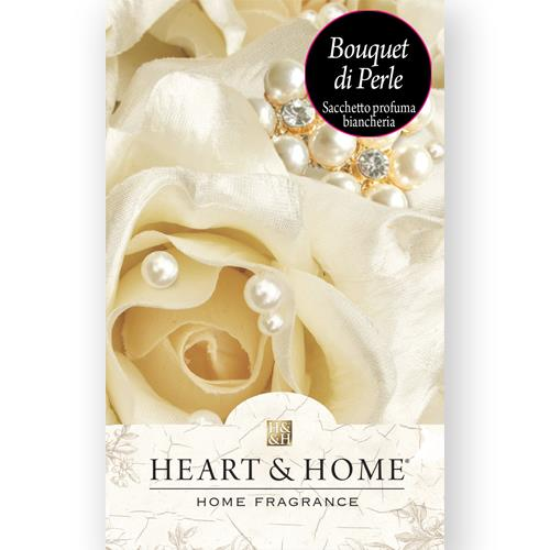 Heart & Home Sacchetto Profumato - Bouquet di Perla