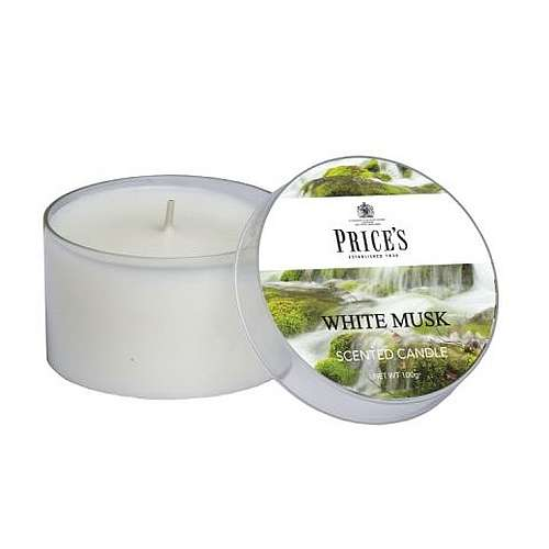 Price's Candela Scent Cup - White Musk 109 gr.