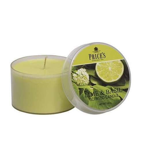 Price's Candela Scent Cup - Lime & Basil 109 gr.