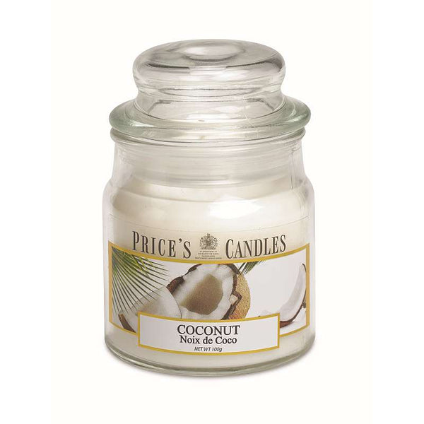 Price's Candle Candela Piccola - Coconut - 100 Gr.