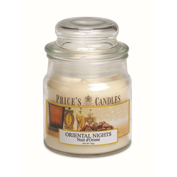 Price's Candle Candela Piccola - Oriental Nights - 100 Gr.
