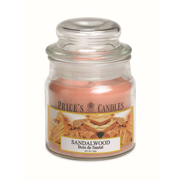 Price's Candle Candela Piccola - Sandalwood - 100 Gr.
