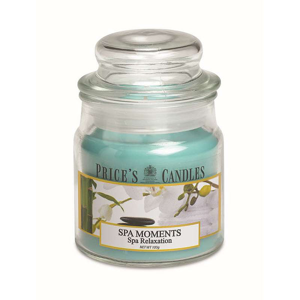 Price's Candle Candela Piccola - Spa Moments - 100 Gr.