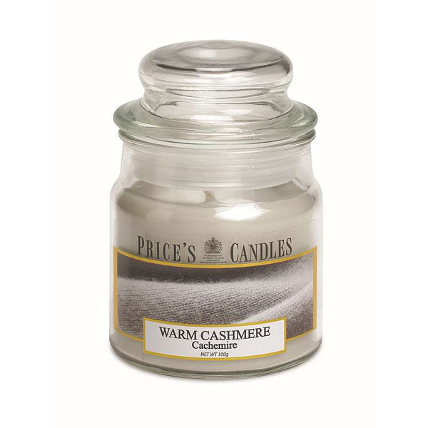 Price's Candle Candela Piccola - Warm Cashmere - 100 Gr.