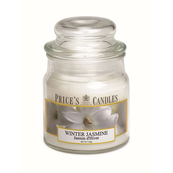 Price's Candle Candela Piccola - Winter Jasmin - 100 Gr.