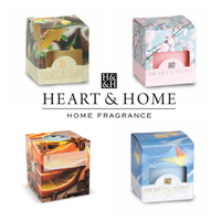 Heart & Home - Set di 4 Candele in Cera di Soia - 53 Gr.