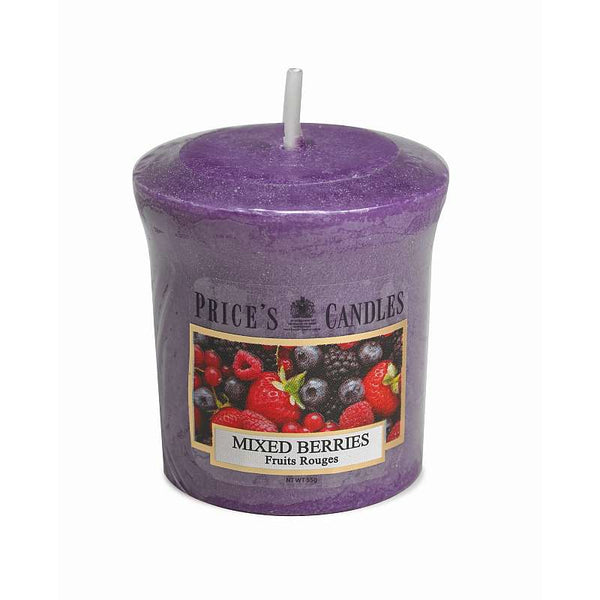 Price's Candle Candela Votiva - Mixed Berries - 58 gr.