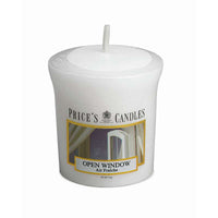 Price's Candle Candela Votiva - Open Window - 58 gr.