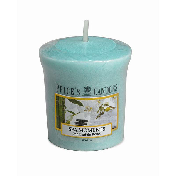 Price's Candle Candela Votiva - Spa Moments - 58 gr.